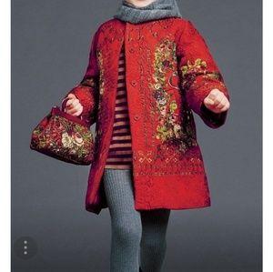 ✔💯% Authentic ✔ Dolce&Gabanna key print coat